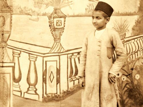 عکس دوران کودکی آقای بهجت