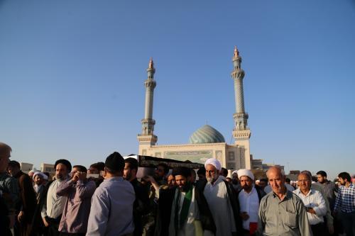 آلبوم تصاویر مراسم تشییع همسر مکرمه حضرت آیتالله العظمی بهجت٢